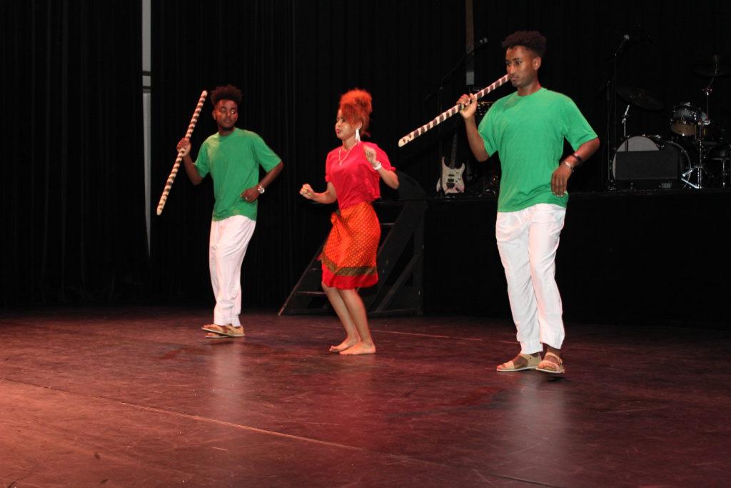 Dans - Traditionele Eritrese dans (Kunama etnische groep)