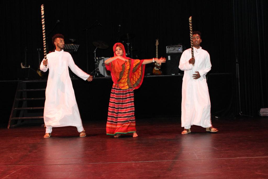 Dans - Traditionele Eritrese dans (Bilen etnische groep)